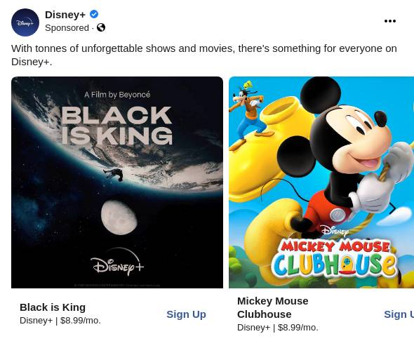 Disney Stream The Best Of Disney Pixar Marvel Star Wars And National Geographic Plus More Ad