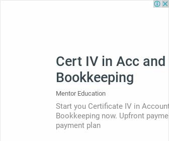 Certificate IV in Accounting and Bookkeeping - Mentor Education