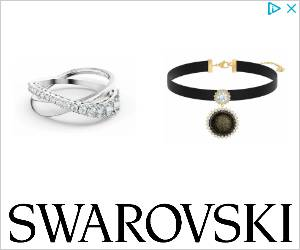 Twist Rows Ring, White, Rhodium plated | Swarovski.com