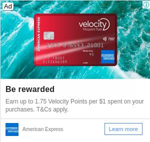 The Velocity Escape Credit Card | AMEX Australia