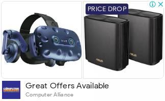 HTC Vive Pro EYE Virtual Reality 3D Headset Kit | Computer Alliance