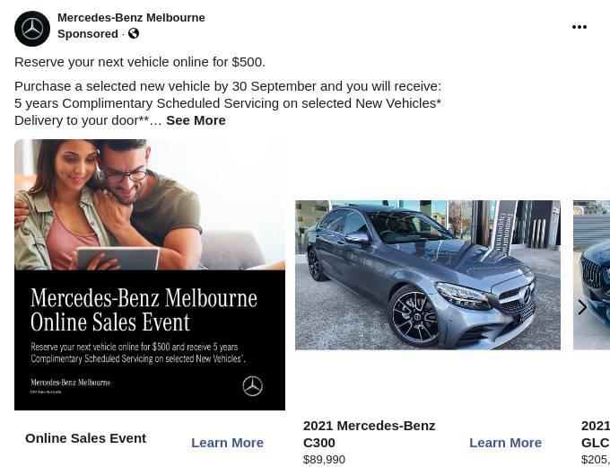Vehicle Stock - Mercedes-Benz MBMA