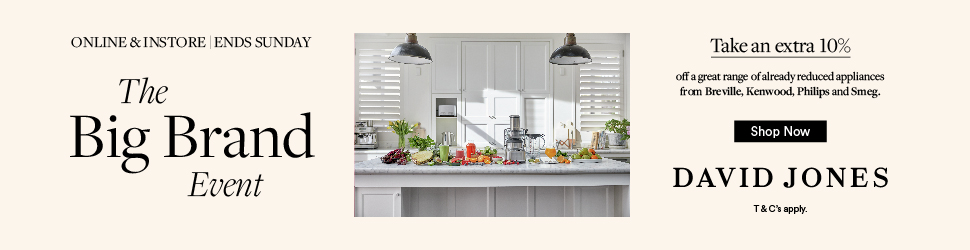 Small Appliances Sale | Buy Appliances Online | David Jones