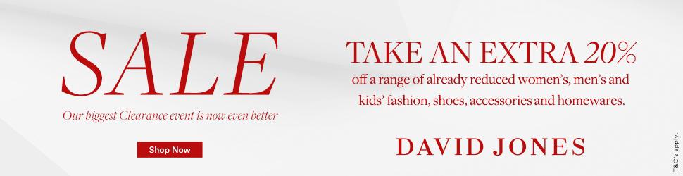 Fashion, Home, Electrical & More On Sale | David Jones