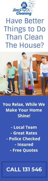 Jim's Home & Office Cleaning - Call 131 546