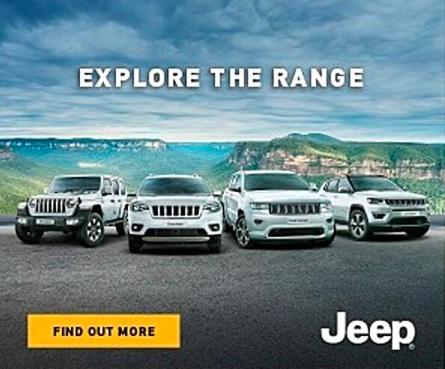 Source: BigDatr, Jeep 'Explore The Range' campaign, Digital Display, captured Jan 16 - May 27 2020