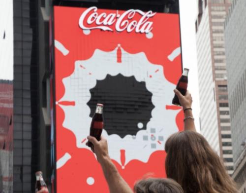Coca-Cola 3D Billboard