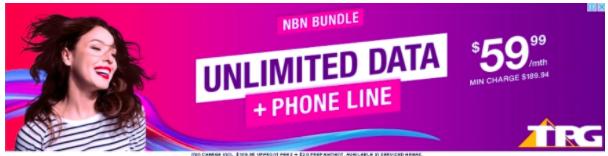 Source: BigDatr, TPG Retail campaign  Unlimited Data + Phone Line  campaign, Digital, Captured June 12 - Aug 12