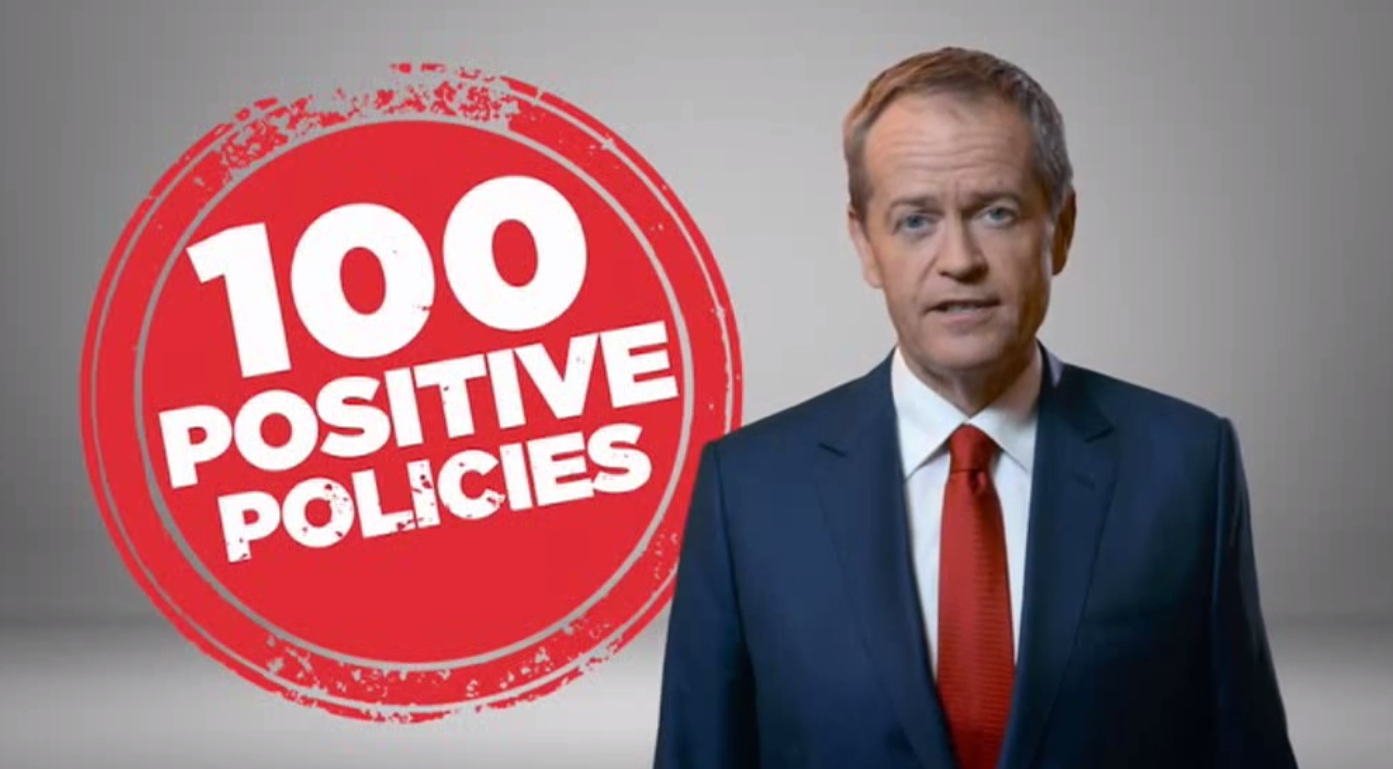 Image of 100 Positive Policies Campaign