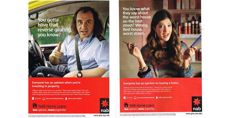 Image of NAB HomeLoan Campaign