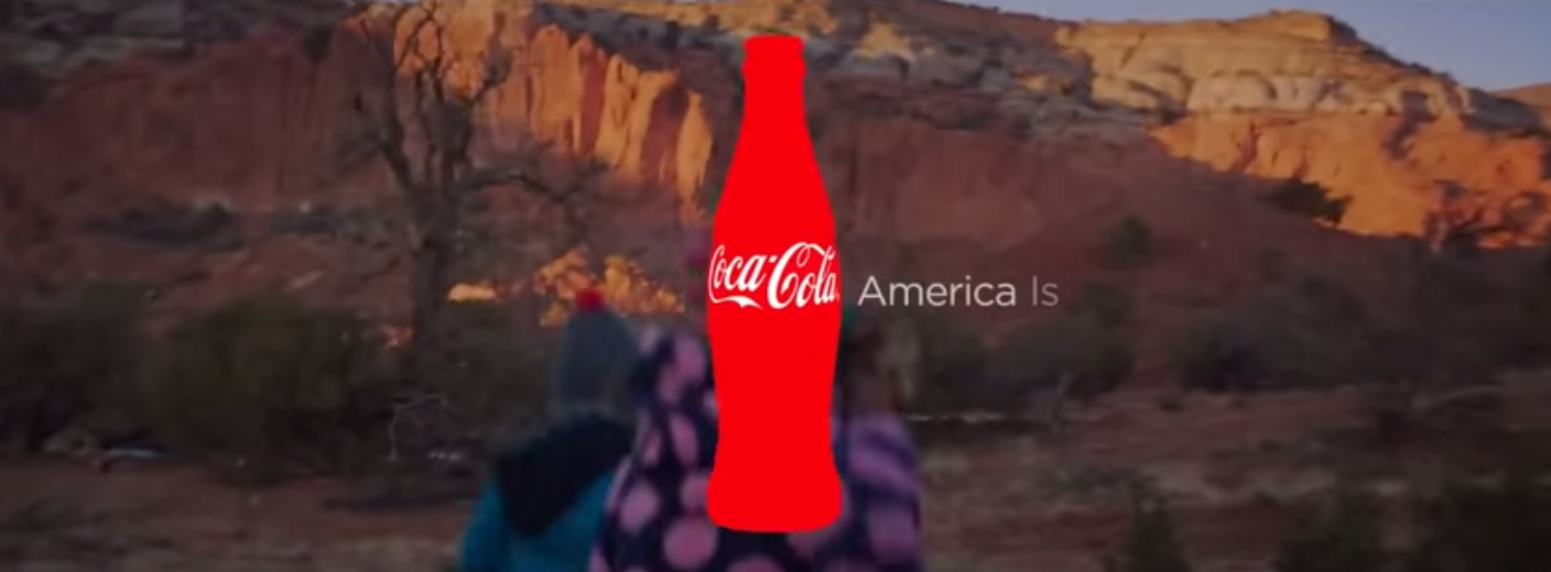 Image of Coca Cola AMerica is Beautiful