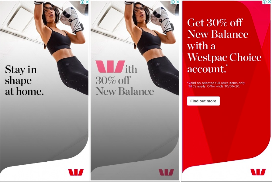 Source: BigDatr, Westpac  Get 30% Off New Balance With A Westpac Choice Account