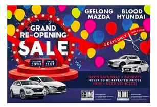 Hyundai Dealer Ad