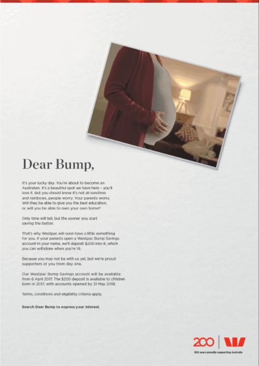 Image of Bump Print Campaign